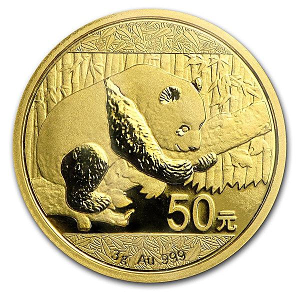 Chinese Gold Panda 2016 - 3 g