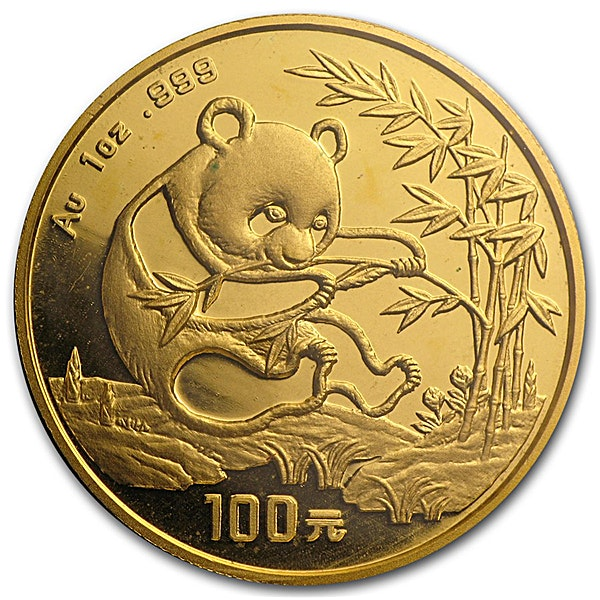 Chinese Gold Panda 1994 - 1 oz