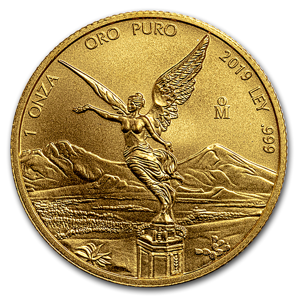 Mexican Gold Libertad 2019 - 1 oz