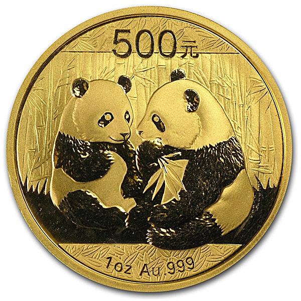 Chinese Gold Panda 2009 - 1 oz