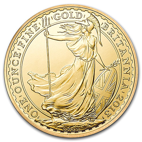 United Kingdom Gold Britannia 2013 - 1 oz