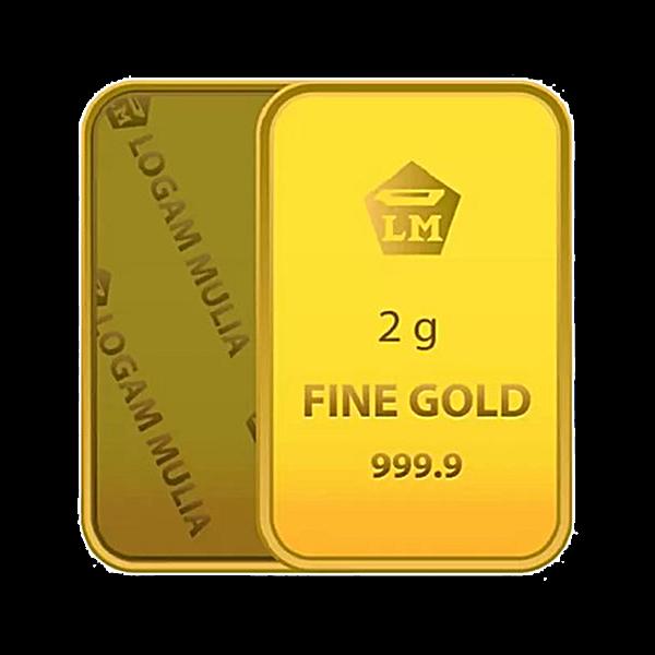 Logam Mulia Gold Bar - 2 g