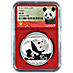 Chinese Silver Panda 2016 - Graded MS 69 by NGC - 30 g thumbnail