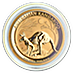 Australian Gold Kangaroo Nugget 2019 - 1/4 oz thumbnail