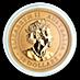 Australian Gold Kangaroo Nugget 2019 - 1/2 oz thumbnail