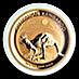 Australian Gold Kangaroo Nugget 2019 - 1 oz thumbnail