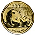 Chinese Gold Panda 2011 - 1/4 oz thumbnail