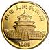Chinese Gold Panda 1985 - 1 oz thumbnail