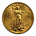 US $20 St. Gaudens Double Eagle 1927 - 30.09 g thumbnail