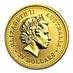 Australian Gold Kangaroo Nugget 2001 - 1/4 oz thumbnail