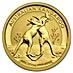 Australian Gold Kangaroo Nugget 2010 - 1/10 oz thumbnail