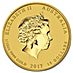 Australian Gold Lunar Series 2017 - Year of the Rooster - 1/10 oz thumbnail