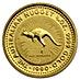 Australian Gold Kangaroo Nugget 1990 - 1/20 oz thumbnail