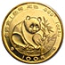 Chinese Gold Panda 1988 - 1 oz thumbnail