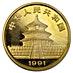 Chinese Gold Panda 1991 - 1 oz thumbnail