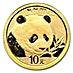 Chinese Gold Panda 2018 - 1 g thumbnail