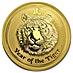 Australian Gold Lunar Series 2010 - Year of the Tiger - 1 oz thumbnail