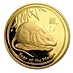 Australian Gold Lunar Series 2008 - Year of the Mouse - Proof - 1 oz thumbnail
