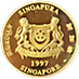 Singapore Mint Gold Ox 1997 - With Box and COA - 1 oz thumbnail