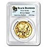 American Gold Buffalo 2014 - Black Diamond First Strike - Graded MS 69 by PCGS - 1 oz