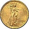 US $20 St. Gaudens Double Eagle 1924  - 30.09 g