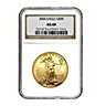American Gold Eagle 2005 - Graded MS 69 by NGC - 1 oz