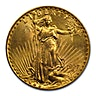 US $20 St. Gaudens Double Eagle 1927 - 30.09 g