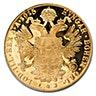 Austrian Gold 4 Ducat 1915 - Restrike - 0.4438 oz