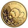 Chinese Gold Panda 1987 - Proof - New Orleans Sino Friendship