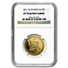 Isle of Man Gold Noble 2011 - Graded PF 70 by NGC - 1/2 oz