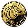 Singapore Gold Lion 1991 - 1/2 oz