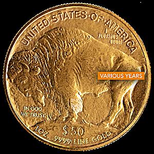 American Gold Buffalo - Various Years - 1 oz