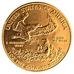 American Gold Eagle 1987 - 1 oz thumbnail