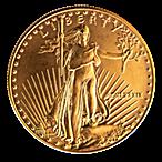 American Gold Eagle 1989 - 1 oz thumbnail