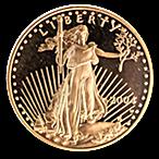 American Gold Eagle 2004 - Proof - 1/2 oz thumbnail