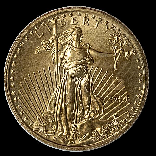 American Gold Eagle 2014 - 1/10 oz