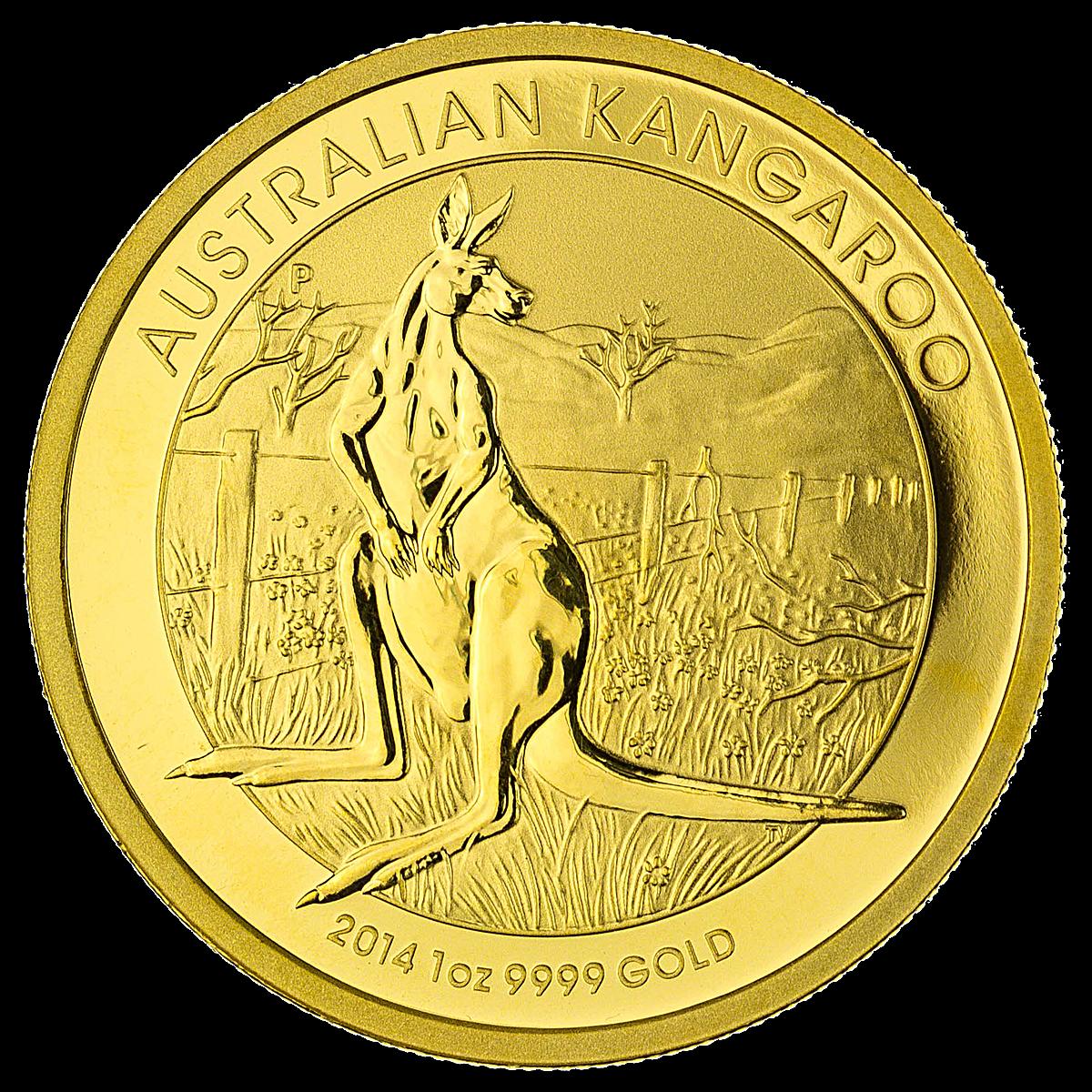 Australian Gold Kangaroo Nugget 2014
