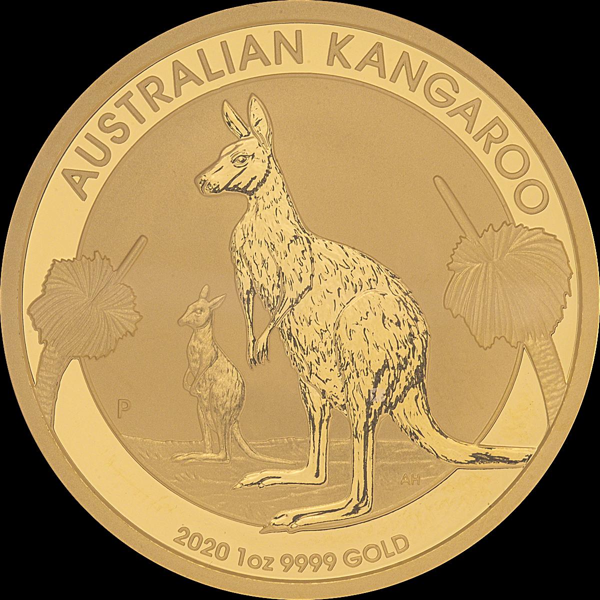 2020 Australian Gold Kangaroo - 1 Oz