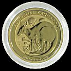 Australian Gold Kangaroo Nugget 2021 - 1/4 oz thumbnail