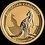 Australian Gold Kangaroo Nugget 2016 - 1/4 oz thumbnail