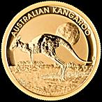 Australian Gold Kangaroo Nugget Various Years - 1/2 oz thumbnail