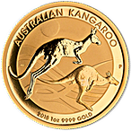 Australian Gold Kangaroo Nugget Various Years - 1 oz thumbnail