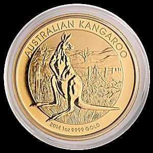 Australian Gold Kangaroo Nugget 2014 - 1 oz