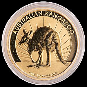 Australian Gold Kangaroo Nugget 2011 - 1 oz