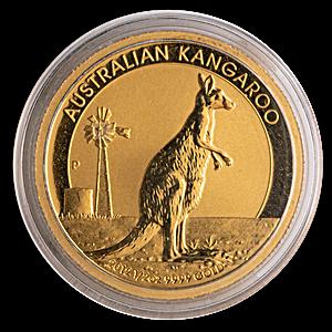 Australian Gold Kangaroo Nugget 2012 - 1/2 oz