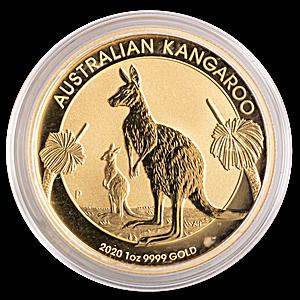Australian Gold Kangaroo Nugget 2020 - 1 oz