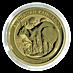 Australian Gold Kangaroo Nugget 2021 - 1/2 oz thumbnail