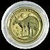 Australian Gold Kangaroo Nugget 2021 - 1/10 oz thumbnail