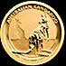 Australian Gold Kangaroo Nugget 2016 - 1/10 oz thumbnail