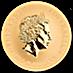 Australian Gold Kangaroo Nugget 2015 - 1 oz thumbnail